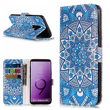 غطاء من أجل Samsung Galaxy S9 / S9 Plus / S8 Plus محفظة / حامل البطاقات / مع حامل غطاء كامل للجسم ماندالا نمط قاسي جلد PU