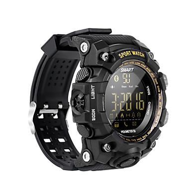 ex16s ساعة ذكية بلوتوث اللياقة البدنية تعقب دعم الإخطار / رصد معدل ضربات القلب الرياضية للماء smartwatch متوافق مع الهواتف فون / سامسونج / الروبوت