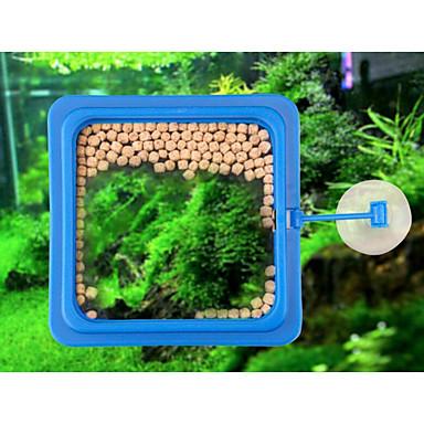 أحواض السمك والدبابات مغذيات بلاستيك مقاوم للماء / قابل للغسيل / قابل للتعديل مرن 1 قطعة