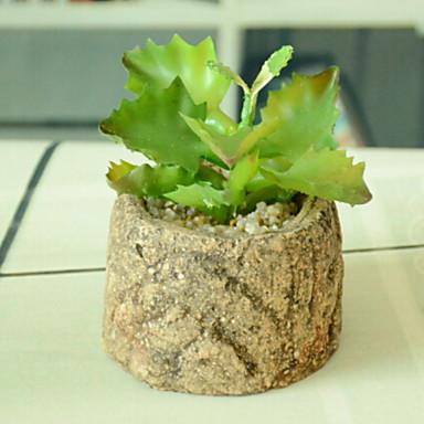 زهور اصطناعية 1 فرع كلاسيكي الحديث المعاصر النمط الرعوي النباتات العصارية أزهار الطاولة