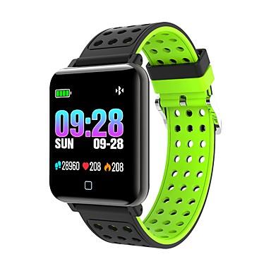 M19 ساعة ذكية بلوتوث اللياقة البدنية تعقب دعم الإخطار / رصد معدل ضربات القلب الرياضة للماء smartwatch متوافق مع الهواتف فون / سامسونج / الروبوت