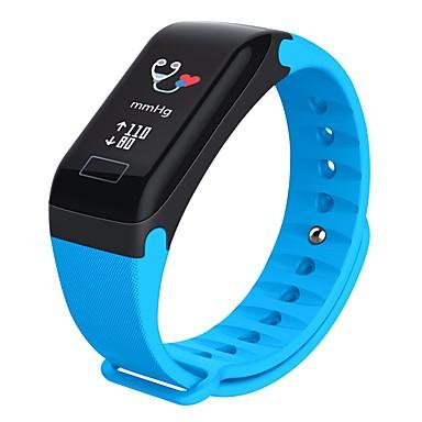 זול שעונים חכמים-R3C חכמים שעונים Android iOS Blootooth עמיד במים מוניטור קצב לב מודד לחץ דם מסך מגע מד צעדים מעקב שינה תזכורת בישיבה Alarm Clock כרונוגרף / המתנה ארוכה / 120-150 / שליטה במצלמה / תזכורת תרגיל