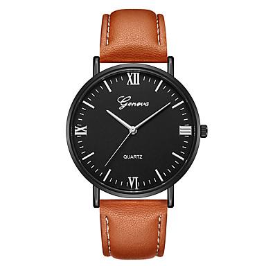Geneva Dámské Náramkové hodinky Křemenný Kůže Černá   Hnědá Nový design  Hodinky na běžné nošení Cool bb65e26156