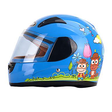 저렴한 헬맷 & 마스크-YEMA 203 풀 페이스 아동 남여 공용 오토바이 헬멧 충격방지 / UV 차단 / 방풍