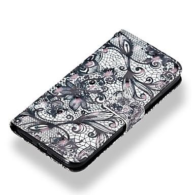 iPhone portafoglio X Resistente Con Plus iPhone Plus iPhone Porta Custodia Apple A 8 X pizzo Integrale 8 8 iPhone stampa credito di iPhone sintetica La in supporto pelle Per 06787765 per carte wRq4n8RS