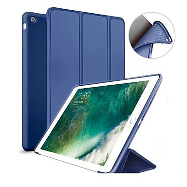 Case For Apple iPad (2018) / iPad Pro 11'' / iPad (2017) with Stand / Magnetic Full Body Cases Solid Colored Hard Silicone for iPad Air / iPad 4/3/2 / iPad Mini 3/2/1 / iPad Pro 10.5