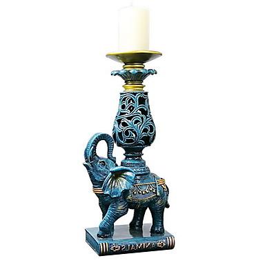 الحديثة / المعاصرة الحديد Candle Holders الشمعدانات 1PC, شمعة / حامل شمعة