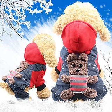 القوارض كلاب قطط المعاطف ملابس الكلاب حيوان شخصية أصفر أحمر قطن كوستيوم من أجل هاسكي لابرادور Malamute ألاسكا كل الفصول انثى ستايل رياضي مدفئ الرأس