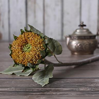 زهور اصطناعية 1 فرع كلاسيكي الحديث المعاصر أسلوب بسيط عباد الشمس أزهار الطاولة