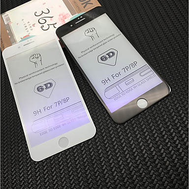 AppleScreen ProtectoriPhone 8 Plus 9Hقسوة حامي شاشة أمامي 1 قطعة زجاج مقسي