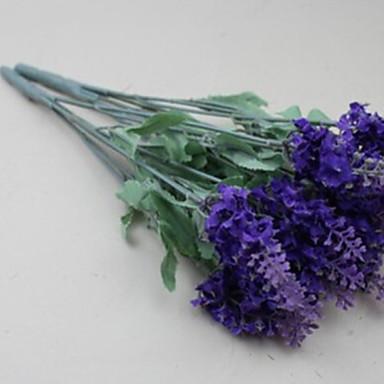 زهور اصطناعية 1 فرع كلاسيكي أسلوب بسيط أزرق فاتح أزهار الطاولة