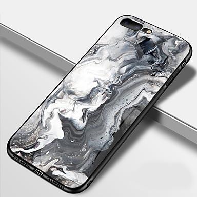 retro 8 per temperato 8 iPhone iPhone 06826712 Custodia X iPhone iPhone Plus Per 8 Effetto Vetro TPU Fantasia iPhone Per Plus marmo A X Resistente disegno Apple specchio gqHUXH7