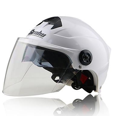 SENHU S168 وجه مفتوح بالغين للجنسين دراجة نارية خوذة مكافح الضباب / ثبات / مقاومة الصدمات