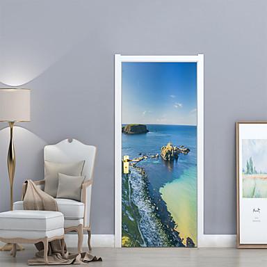 لواصق حائط مزخرفة / ملصقات الباب - ملصقات الحائط الحيوان مناظر طبيعية غرفة الجلوس / غرفة النوم / دورة المياه