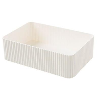 بلاستيك مستطيل كوول الصفحة الرئيسية منظمة, 1PC منظمو أداة / تخزين الماكياج