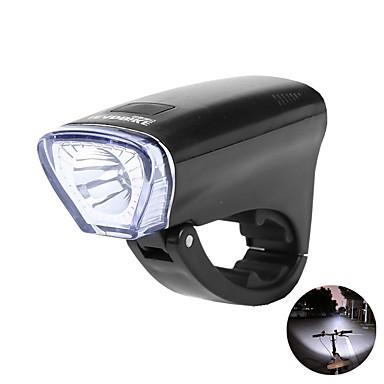 LED اضواء الدراجة ضوء الدراجة الأمامي مصابيح الدراجة دراجة جبلية ركوب الدراجة ضد الماء سريع الإصدار خفة الوزن AA / 14500 400 lm أخضر / ABS / وسائط متعددة