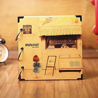 ألبومات الصور العائلة كاجوال مستطيل للبيت