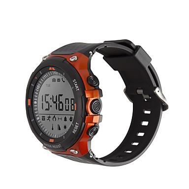 זול שעונים חכמים-SMA D-Watch 01D גברים חכמים שעונים Android iOS Blootooth עמיד במים כלוריות שנשרפו המתנה ארוכה יצירתי עיצוב חדש שעון עצר מד צעדים מזכיר שיחות מד פעילות מעקב שינה / Alarm Clock / חיישן כבידה / > 480