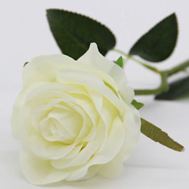 زهور اصطناعية 1 فرع كلاسيكي الحديث المعاصر أسلوب بسيط الورود الزهور الخالدة أزهار الطاولة