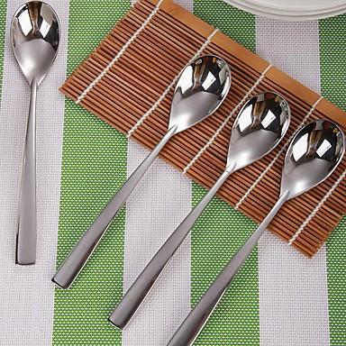الفولاذ المقاوم للصدأ / الحديد ملعقة أدوات المطبخ الإبداعية أداة أدوات أدوات المطبخ لأواني الطبخ أدوات المطبخ الحديثة 4PCS