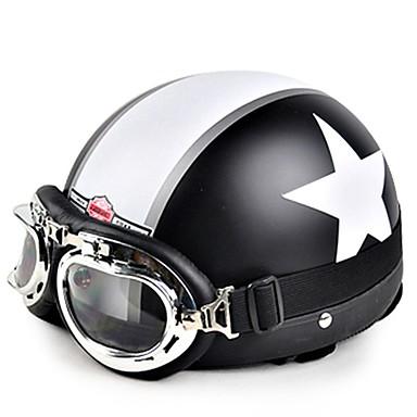 HEROBIKER TK-01 نصف خوذة بالغين / مراهق للجنسين دراجة نارية خوذة مكافحة الرياح / مكافحة الغبار / الحرارية / الدافئة