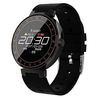 L8 smart watch bt 4.0 Fitness tracker support يخطر & تعقب الرياضية شاشة مستديرة smartwatch الروبوت آند الهواتف النقالة المتوافقة