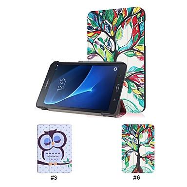 غطاء من أجل Samsung Galaxy Tab A 7.0 (2016) مع حامل غطاء كامل للجسم شجرة قاسي جلد PU