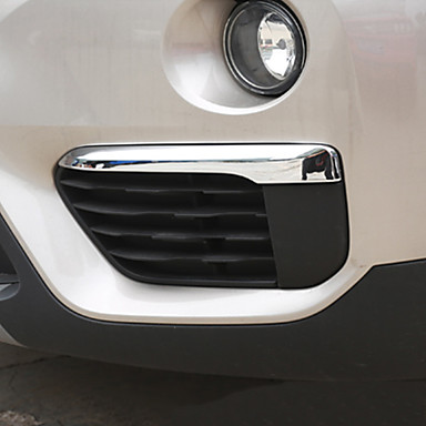 2pcs سيارة الحاجب الخفيف الأعمال التجارية نوع اللصق إلى مصابيح الضباب الأمامية من أجل BMW X1 2016