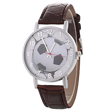 نسائي ساعة المعصم كوارتز جلد اصطناعي أسود / الأبيض / أزرق ساعة كاجوال محبوب مماثل سيدات زهر غني بالألوان - أحمر أخضر أزرق