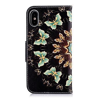 Farfalla iPhone 8 supporto Integrale Plus Custodia pelle 06812428 di Per iPhone carte iPhone credito X A portafoglio Plus Resistente per X 8 Con Porta sintetica iPhone Apple iPhone 8 XFZna6