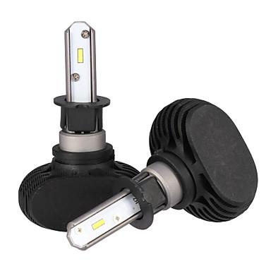 2pcs H3 لمبات الضوء 25 W Integrated LED 2500 lm 6 LED مصباح الرأس 2018