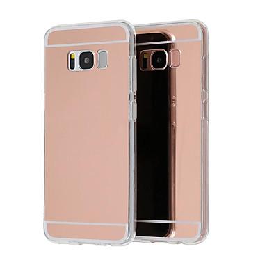 Недорогие Чехлы и кейсы для Galaxy S6-Кейс для Назначение SSamsung Galaxy S9 / S9 Plus / S8 Plus Покрытие / Зеркальная поверхность / Ультратонкий Кейс на заднюю панель Однотонный Твердый Акрил