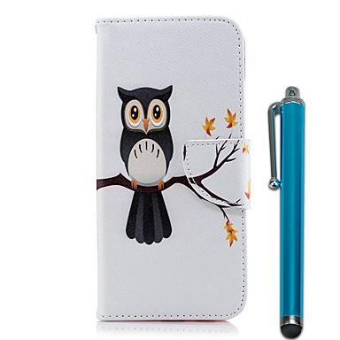 غطاء من أجل Samsung Galaxy A6+ (2018) / A6 (2018) محفظة / حامل البطاقات / مع حامل غطاء كامل للجسم بوم قاسي جلد PU إلى A6 (2018) / A6+ (2018) / A5 (2017)