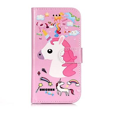 Custodia Con pelle Porta iPhone sintetica X Per 06787748 iPhone per Plus iPhone Apple credito supporto iPhone X carte Integrale A Unicorno iPhone di portafoglio Resistente 8 8 Plus 8 OOrU1xzqw