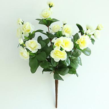 زهور اصطناعية 1 فرع كلاسيكي أنيق أزلية أزهار الأرض