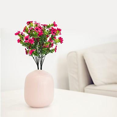 زهور اصطناعية 1 فرع كلاسيكي الحديث المعاصر شرقي أقحوان أزهار الطاولة