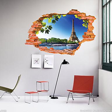 لواصق حائط مزخرفة - لواصق مناظر طبيعية غرفة الجلوس / غرفة النوم / دورة المياه