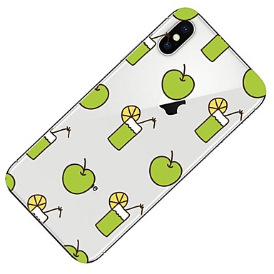 Morbido iPhone Frutta Per Custodia Transparente 8 Per iPhone iPhone iPhone 8 retro iPhone per 06878424 Fantasia X Plus disegno Apple 8 TPU X gwTAg7q