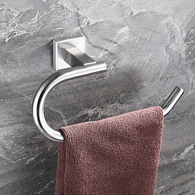 قضيب المنشفة تصميم جديد / كوول معاصر الفولاذ المقاوم للصدأ / الحديد 1PC فردي مثبت على الحائط