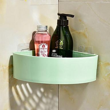 رف الحمام تصميم جديد / كوول معاصر البلاستيك 1PC مثبت على الحائط