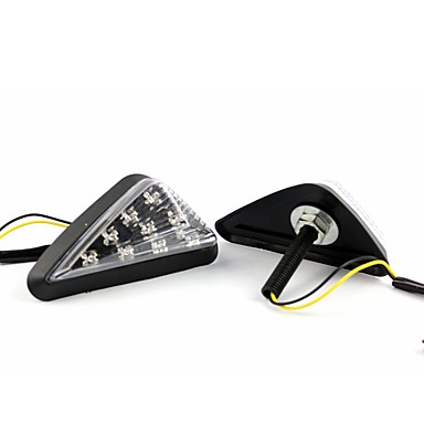 voordelige Motorverlichting-2st transparant deksel 4.5w ip66 led knipperlicht wit amber blauw groen rood 5 kleuren optioneel