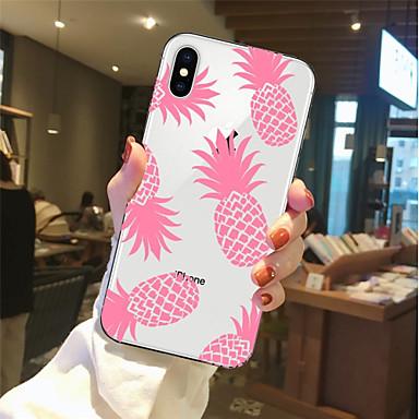 Fantasia iPhone Apple iPhone X Plus 06878427 Per iPhone Per 8 X Transparente Custodia 8 Morbido iPhone disegno iPhone TPU 8 per Frutta retro 0qwtZT