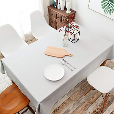 معاصر قطن مربع قماش الطاولة لون سادة الجدول ديكورات 1 pcs