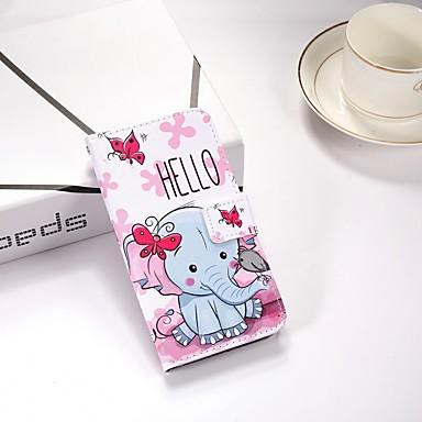 غطاء من أجل Samsung Galaxy S9 / S9 Plus / S8 Plus محفظة / مع حامل / قلب غطاء كامل للجسم فيل قاسي جلد PU