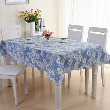 معاصر PVC مربع قماش الطاولة هندسي الجدول ديكورات 1 pcs