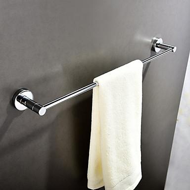قضيب المنشفة تصميم جديد / كوول معاصر الفولاذ المقاوم للصدأ 1PC فردي مثبت على الحائط