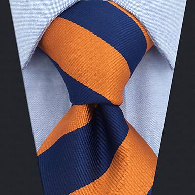 ربطة العنق مخطط / ألوان متناوبة / خملة الجاكوارد رجالي حفلة / عمل