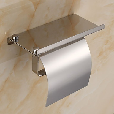 Toilet Paper Holder New Design / Cool Contemporary Stainless Steel / Iron 1pc Toilet Paper Holders Wall Mounted