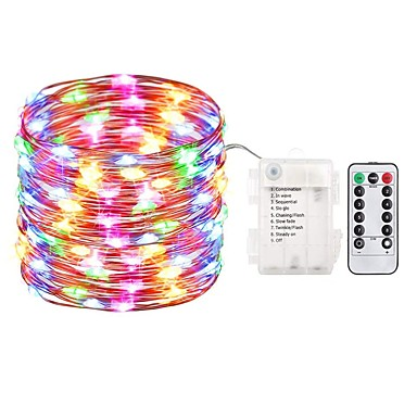 cheap for discount 41a6a 1871e ZDM 5M 50 LED Fairy Lights Battery Operated String Lights ...