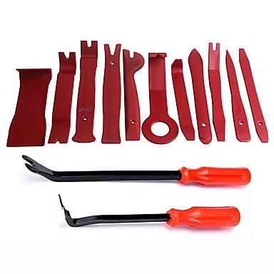 voordelige Reparatiegereedschap-ziqiao 13 stks plastic auto auto deur interieurbekleding verwijdering panel clip koesteren open bar tool kit handgereedschap set